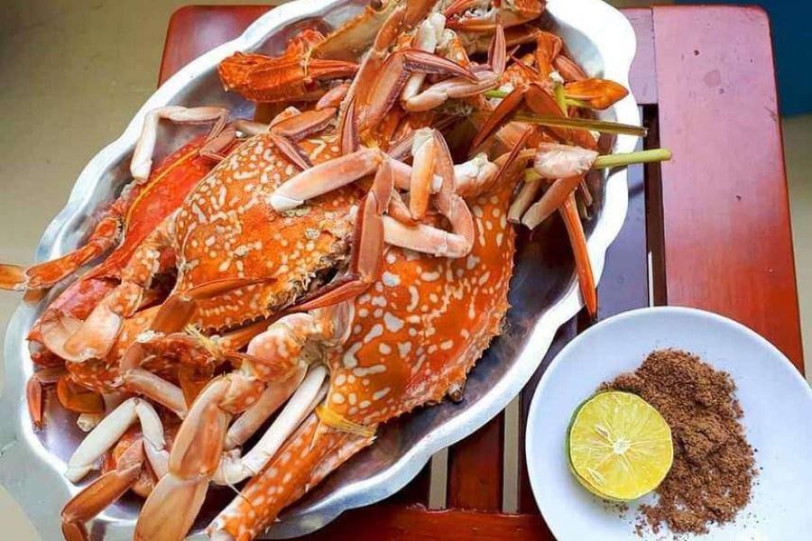 ghẹ Hàm NInh - Phú Quốc